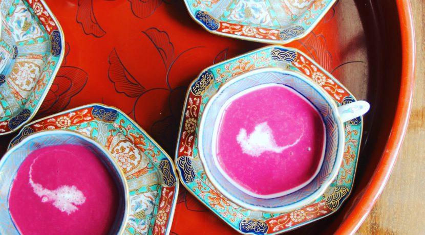 ビーツの冷静スープ