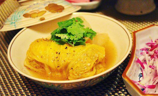 にんにく香る中華風ロール白菜